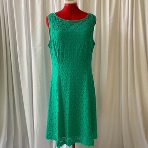 Ronnie Nicole Emerald Dress